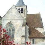Brenouille - Eglise Saint Rieul - Vue Est.
