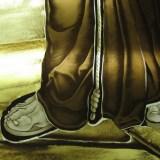 Brenouille - Détail du vitrail de 2006