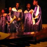 Concert gospel en 2004 - Eglise de Brenouille