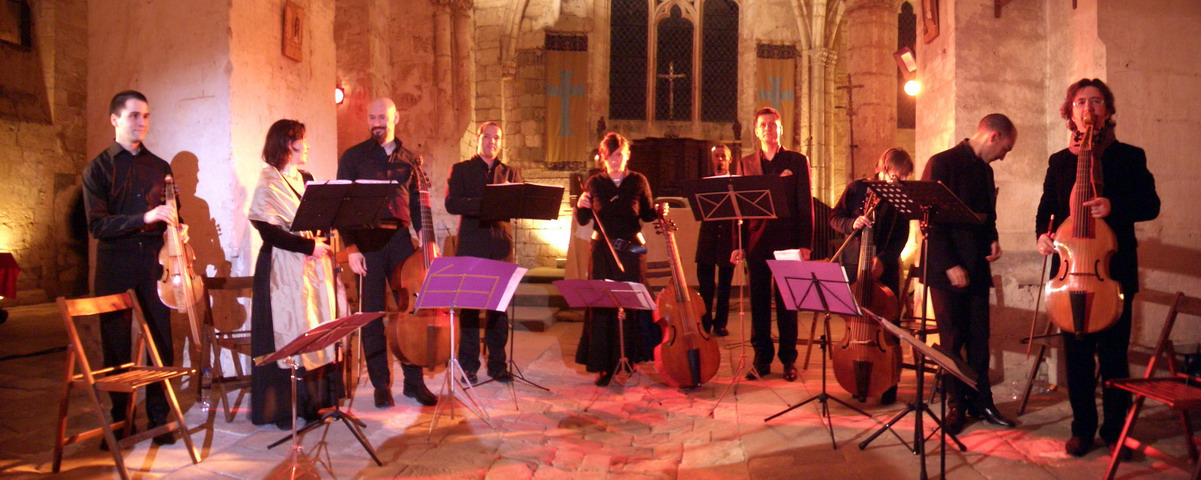 """Concert """"Le caprice vocal"""" en 2007 - Eglise de Brenouille"""