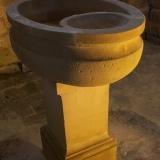 Brenouille - Fonds-baptismaux de l'eglise Saint Rieul