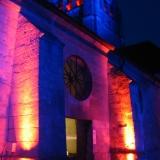Son & Lumière en 2006 -Eglise de Brenouille
