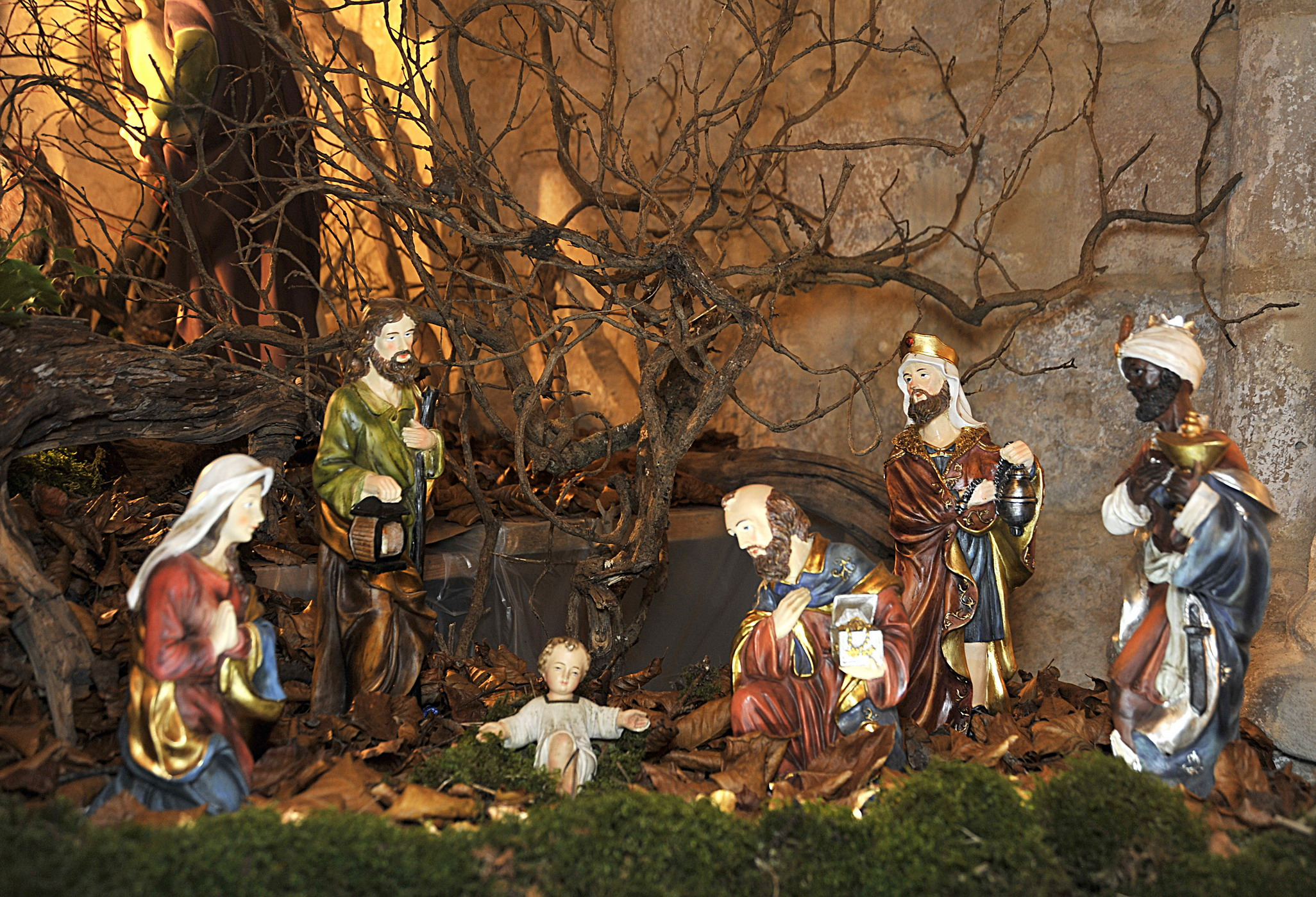 Creche de noel the hippest galleries - Idee decoration creche noel ...