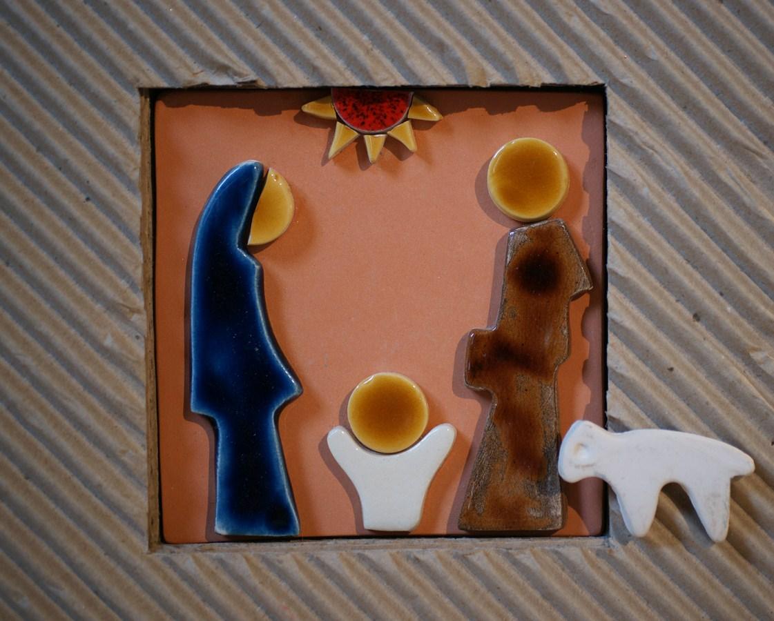 Creche de noel - Brenouille - tableau