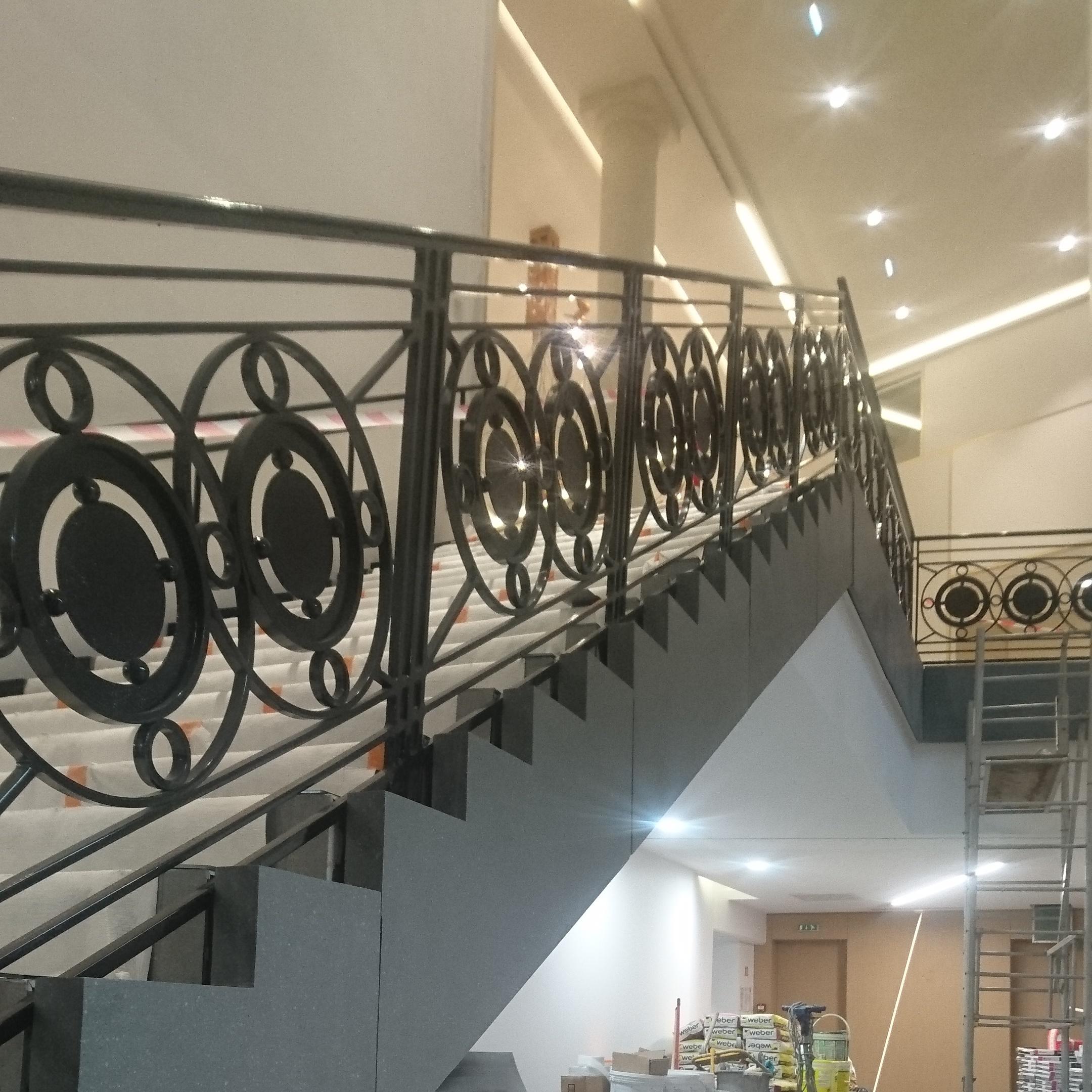DAVID GOSSELIN rampe escalier artdeco paris 8