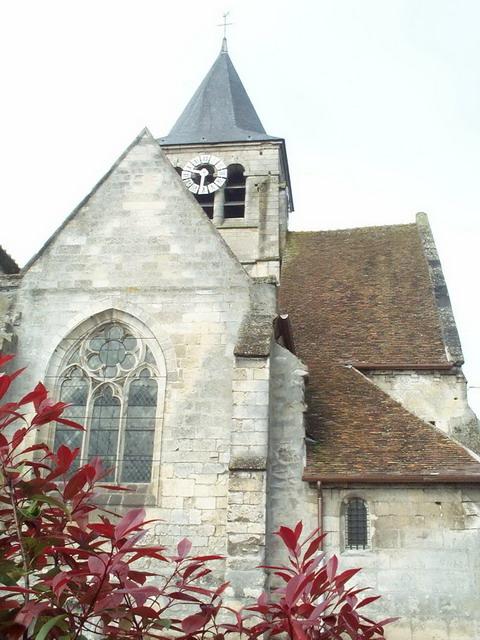 Brenouille- Eglise Saint Rieul(vue Est)