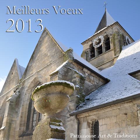Voeux 2013 - Patrimoine Art & Traditions