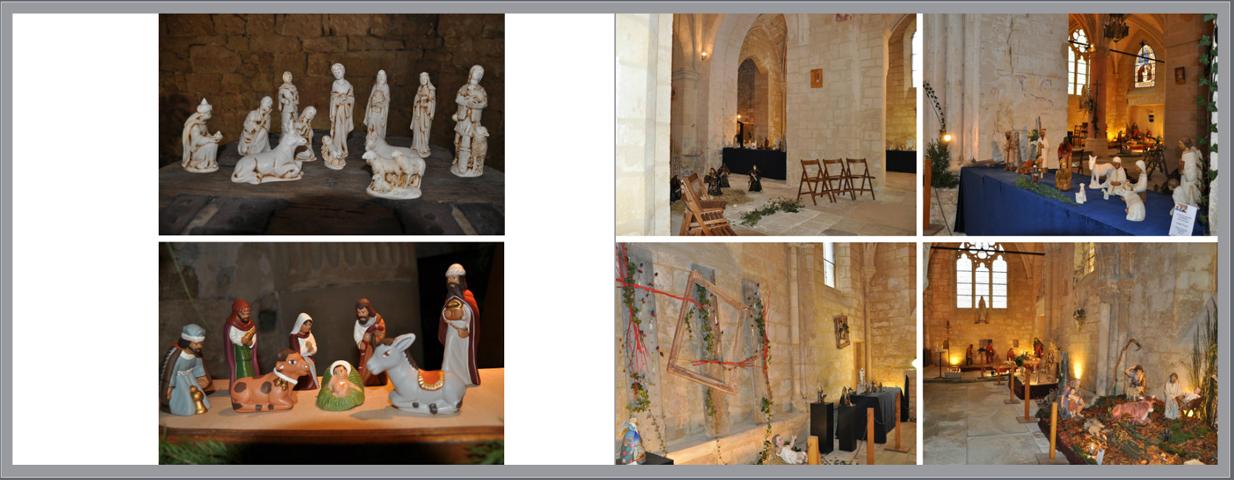 Extrait du livre les crèches de nos villages - edition 2012 - Brenouille - Association Patrimoine Art & Traditions