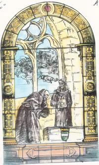 Etude N°1 sur le vitrail historié de l'eglise saint Rieul de Brenouille- 2006
