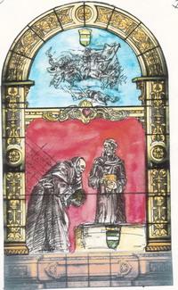 Etude N°2 sur le vitrail historié de l'eglise saint Rieul de Brenouille- 2006