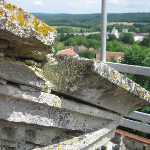 eglise de brenouille - Travaux du fronton 2013