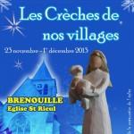 exposition de crèches de noël - Les crèches de nos villages - Brenouille (Oise)