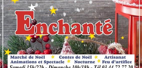 Affiche Marché de Noël de Brenouille 2013