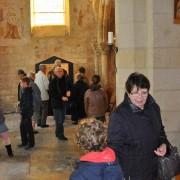 Les nombreux visiteurs de l'exposition les crèches de nos villages 2013 - Brenouille