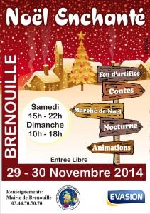 Marché de Noël de Brenouille 2014