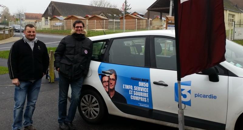 FR3 Picardie Matin- Les Creches de nos villages - Brenouille