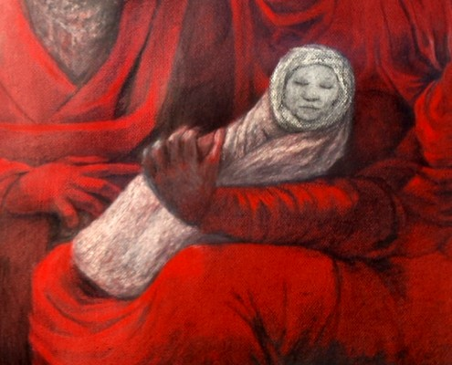 Detail recto Nativite a la Pieta