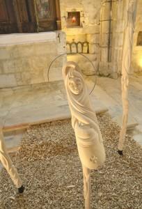 Jesus bois - Arnaud SIMON Brenouille